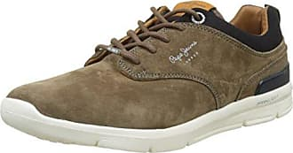 London, Sneakers Basses Homme, Marron (Tobacco), 46 (EU)Pepe Jeans London
