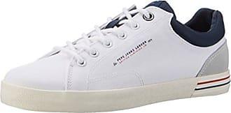 Pepe Jeans London New North Tennis, Scarpe da Ginnastica Basse Uomo, Blu (Navy), 45 EU