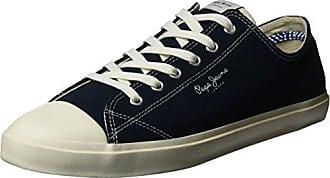 London, Sneakers Basses Homme, Bleu (Navy), 44 (EU)Pepe Jeans London