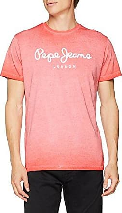 West Sir, Camiseta para Hombre, Rojo (Cardinal Red), Small Pepe Jeans London