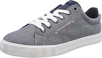 London, Sneakers Basses Homme, Bleu (Navy), 45 (EU)Pepe Jeans London