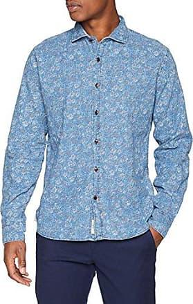 Telles, Camisa para Hombre, Azul (Indigo), Medium Pepe Jeans London