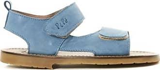 Sale - Velcro Leather Sandals - Pèpè Pepe Jeans London