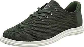 Pepe Jeans London Tinker Pro Seal Camu, Sneakers Basses Homme, Vert (Khaki Green), 46 EU