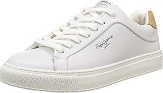 London Frida Seasons, Sneakers Basses Femme, Blanc (Whitewash), 41 EUPepe Jeans London