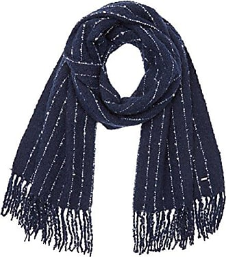 Womens Kyra Scarf Shawl, Blue (Admiral), One size (Manufacturer size: 000) Pepe Jeans London