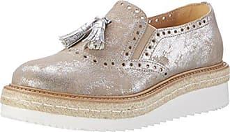 Peperosa 5643/10, Zapatos de Cordones Derby para Mujer, Verde (Herb 06), 39 EU