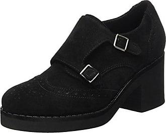 Peperosa 3858/5, Zapatos de Cordones Derby para Mujer, Negro (Nero 04), 37 EU