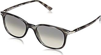 Persol 0Po3183S 104258, Gafas de Sol Unisex-Adulto, Negro (Black/Polalrgreen), 52