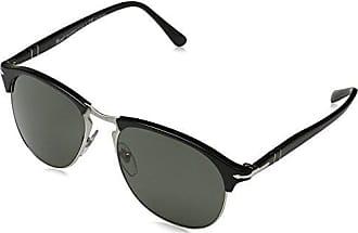 Unisex-Adults 0PO3154S Sunglasses, Matte Black 104258, 58 Persol