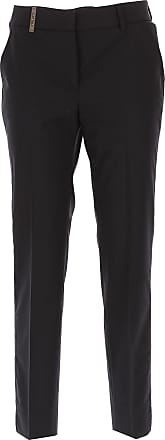 Pants for Women On Sale, Medium Grey, polyester, 2017, 30 PESERICO