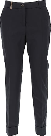 Pants for Women On Sale, Black, polyester, 2017, 26 28 30 32 PESERICO