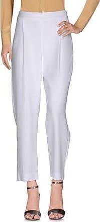 Pants for Women On Sale, Ecru, Virgin wool, 2017, 28 30 32 34 PESERICO