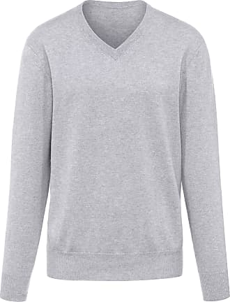 V-neck jumper - design VALENTIN Peter Hahn Cashmere purple Peter Hahn