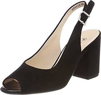 Herdi, Zapatos con Plataforma para Mujer, Rojo (Brasil Suede Berry Suede 777), 39 EU Peter Kaiser