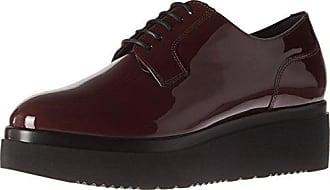 Semler Birgit, Zapatos de Cordones Brogue para Mujer, Rojo (068 Cassis), 40 EU