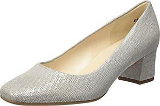 Peter Kaiser Ghana, Zapatos de Tacón con Punta Cerrada para Mujer, Gris (Topas Pin 412), 37.5 EU