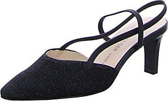 Peter Kaiser Mitty Slingback Damenschuhe 6 UK/39.5 EU Black Shimmer