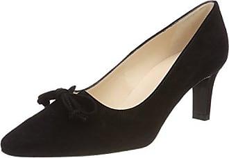 Peter Kaiser Caty, Zapatos de Tacón con Punta Abierta para Mujer, Schwarz (Schwarz Lack), 38 EU