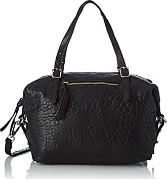 Flo Python, Womens Cross-Body Bag, Noir (Black), 6x15x25 cm (W x H L) Petite Mendigote