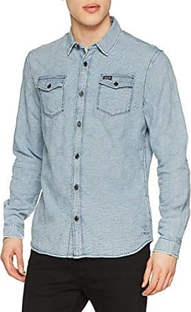 M-SS18-SIL408, Chemise Casual Homme, Vert (California Green 6091), XXLPetrol Industries