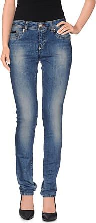 Jeans On Sale, Ocean Royal Blue, Cotton, 2017, 28 29 Philipp Plein