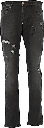 Jeans, Black, Cotton, 2017, US 29 - EU 45 US 31 - EU 47 US 32 - EU 48 US 34 - EU 50 Philipp Plein