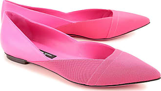 Ballet Flats Ballerina Shoes for Women On Sale in Outlet, fuxia, Leather, 2017, 3.5 Philippe Model