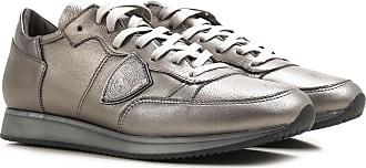 Sneaker für Damen, Tennisschuh, Turnschuh Günstig im Sale, Weiss, Gewebe, 2017, 35 36 37 38 39 39 40 Philippe Model