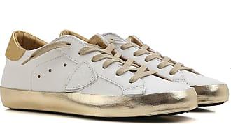 Philippe Model Sneaker Donna In Saldo, Etoile, Beige, pelle, 2017, 36 37 38 40