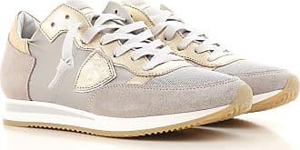 Chaussures De Sport Pour Les Femmes En Vente, Bronze Métal, Cuir, 2017, 35 36 37 40 Modèle Philippe