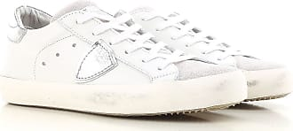 Sneaker Donna On Sale, Argento, Pelle Glitterata, 2017, 36 37 38 Philippe Model