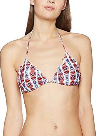 Pieces Pclala Triangle Bra, Parte de Arriba de Bikini para Mujer, Azul (Victoria Blue Victoria Blue), 36 (Talla del fabricante: Small)