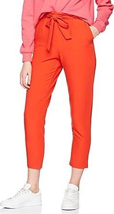 Axara Paris Pantalón para mujer, talla 42, color rojo (sanguine)