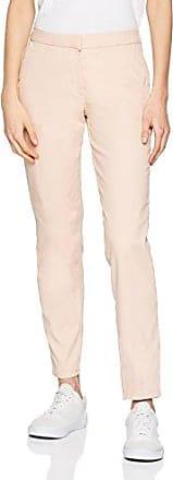 Pieces Pcalbia HW Pants Noos, Pantalones para Mujer, Rosa (Evening Sand Evening Sand), 40 (Talla del Fabricante: Medium)