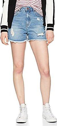 Pieces Pciben MW Shorts, Pantalones Cortos para Mujer, Verde (Laurel Wreath Laurel Wreath), 42 (Talla del Fabricante: Large)