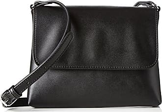 Pcnatta Suede Cross Body, Womens Cross-Body Bag, Schwarz (Black), 1x14x23 cm (B x H T) Pieces