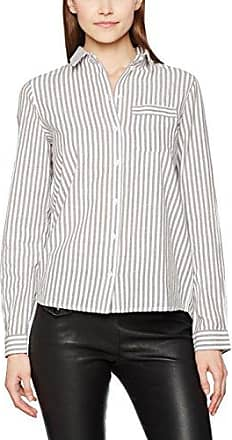 Blouse - Col chemise classique - Manches longues Femme - Multicolore - Mehrfarbig (20) - FR : 38 (Brand size : Small)Replay