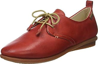 Marc O'Polo 60712933401400 Schnürschuh, Zapatos de Cordones Brogue para Mujer, Burdeos, 40 EU