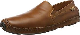 JEREZ 578-2 - Zapatillas de casa de cuero mujer, color marrón, talla 38 Pikolinos