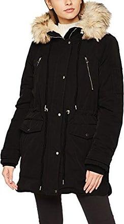 Pimkie MT SS18 Gcocoon Abrigo para Mujer Negro Noir 899A00 XL Pimkie ... 169555d5618
