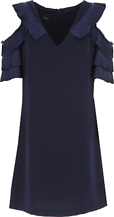 Dress for Women, Evening Cocktail Party On Sale, Black, poliestere, 2017, 10 12 Pinko