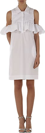 Dress for Women, Evening Cocktail Party On Sale, White, Nylon, 2017, 14 Pinko