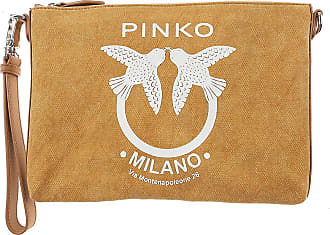 Pinko Womens Pouch On Sale, Beige, Fabric, 2017, one size