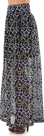 Skirt for Women On Sale, Dark Blue, polyester, 2017, 26 Pinko