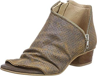 Pinto Di Blu Flicker, Sandales Bout Ouvert Femme, (Taupe 44), 36 EU