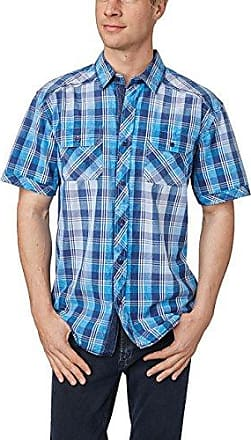 Mens Jeans Hemd Mit Print Casual Shirt Pioneer Authentic Jeans