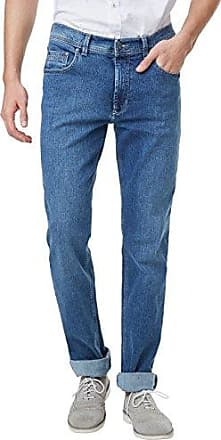 Rando, Vaqueros Straight para Hombre, Azul (Stone Used with Buffies 440), 42W x 34L Pioneer Authentic Jeans