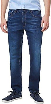 Rando, Vaqueros Straight para Hombre, Negro (Black 11), W34/L34 Pioneer Authentic Jeans