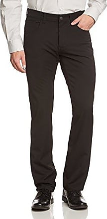 Rando, Vaqueros Straight para Hombre, Negro (Black Used with Buffies 114), 38W x 34L Pioneer Authentic Jeans